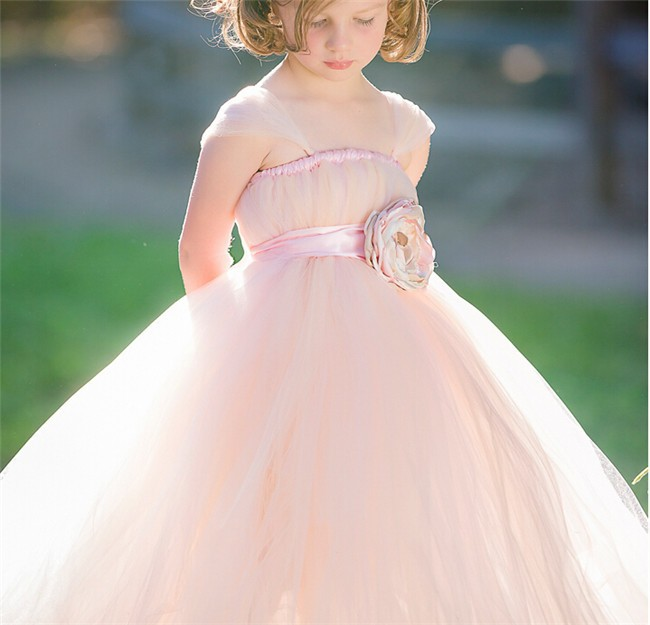 New Design Kid Ball Gown Dresses Wedding Girls Dress Latest Designs For Kids