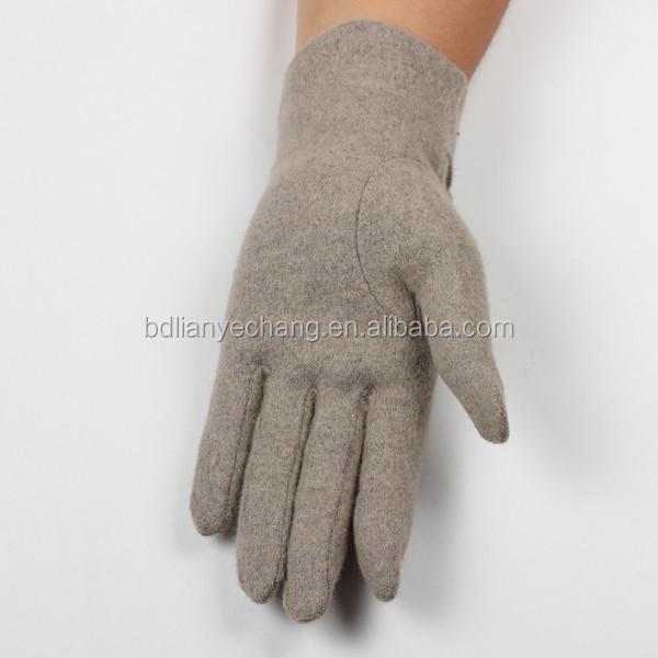 2016 Sequins Touch Screen Gloves Fashion Design Woolen Gloves ...