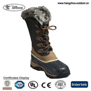 Mens Winter Season Fur Boots