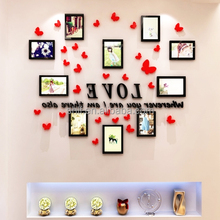 Home Decor Butterfly 3d family tree Photo Frame Classic Wall Sticker