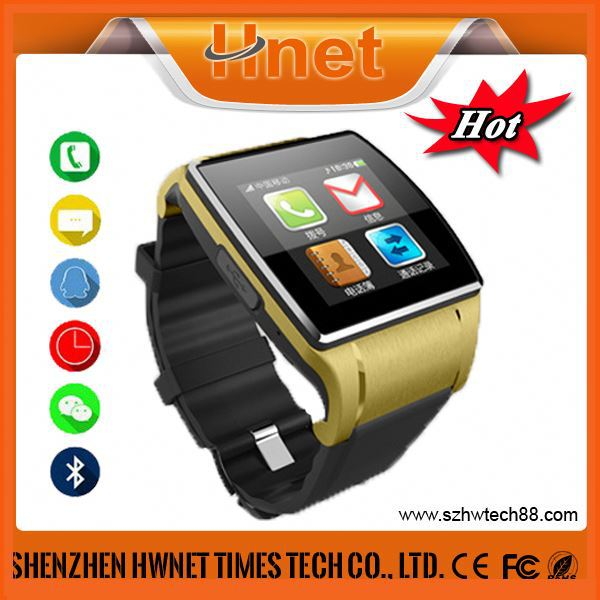 2014 best selling quad band bluetooth dialer GSM bluetooth Smart Watch Mobile Phone