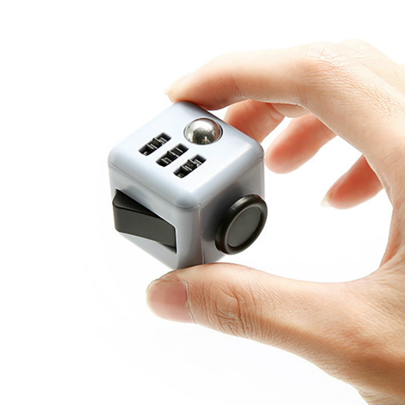 Fidget Cube Stress Puzzle & Magic Cube Squeeze Fun Reliever Anxiety Juguet For Adults Children Desk Spin anti stress Toy