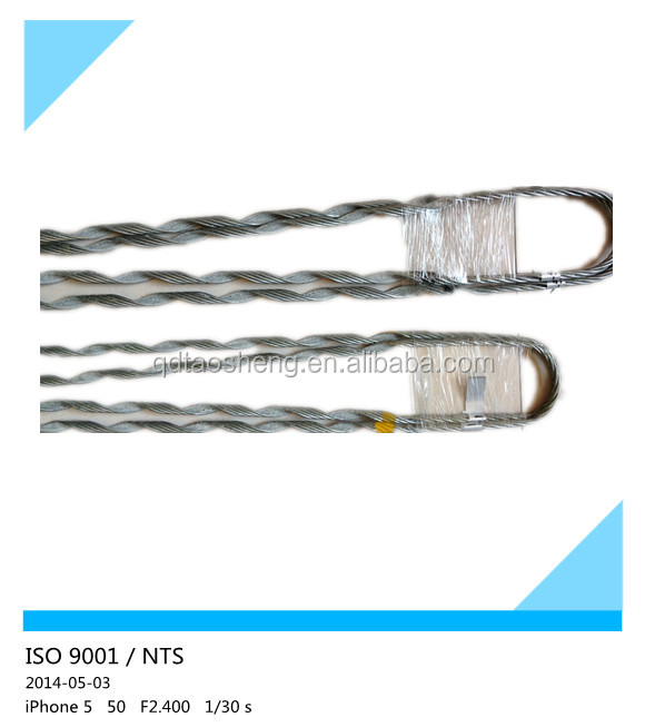Dead end ADSS cable tension clamp aluminum for conductor