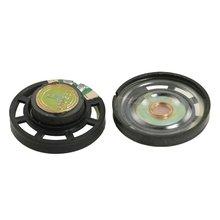 External Magnetic Type Round Plastic Shell Speaker 8 Ohm 0.25W 2 Pcs