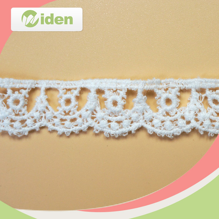 Fancy beautiful embroidered trimming lace borders