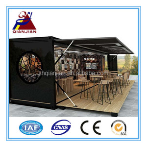 40ft New Mobile Container Restaurant House Snack Bar