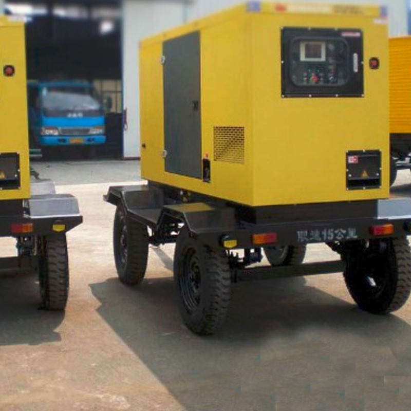 50KW diesel generator price with soundproof cover and truck mounted