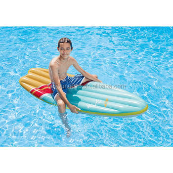 2017 New Intex Surf\'s Up Mats Luchtbed High Wave Inflatable Surfing ...