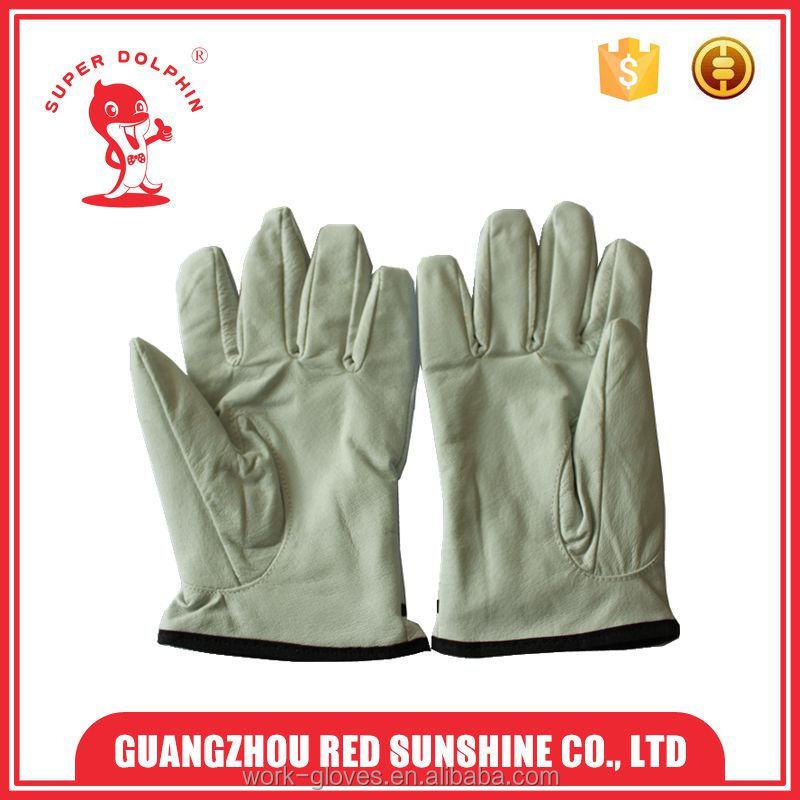 Short driving work hand gloves