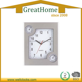 wall clock with temperature and humidity buy weather station wall