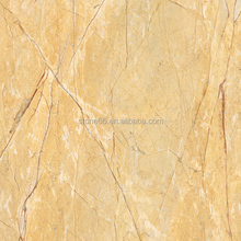 Egypt polished sunny gold marble exterior wall tile gray color
