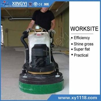 20hp high speed concrete floor grinder polisher with wonder motor