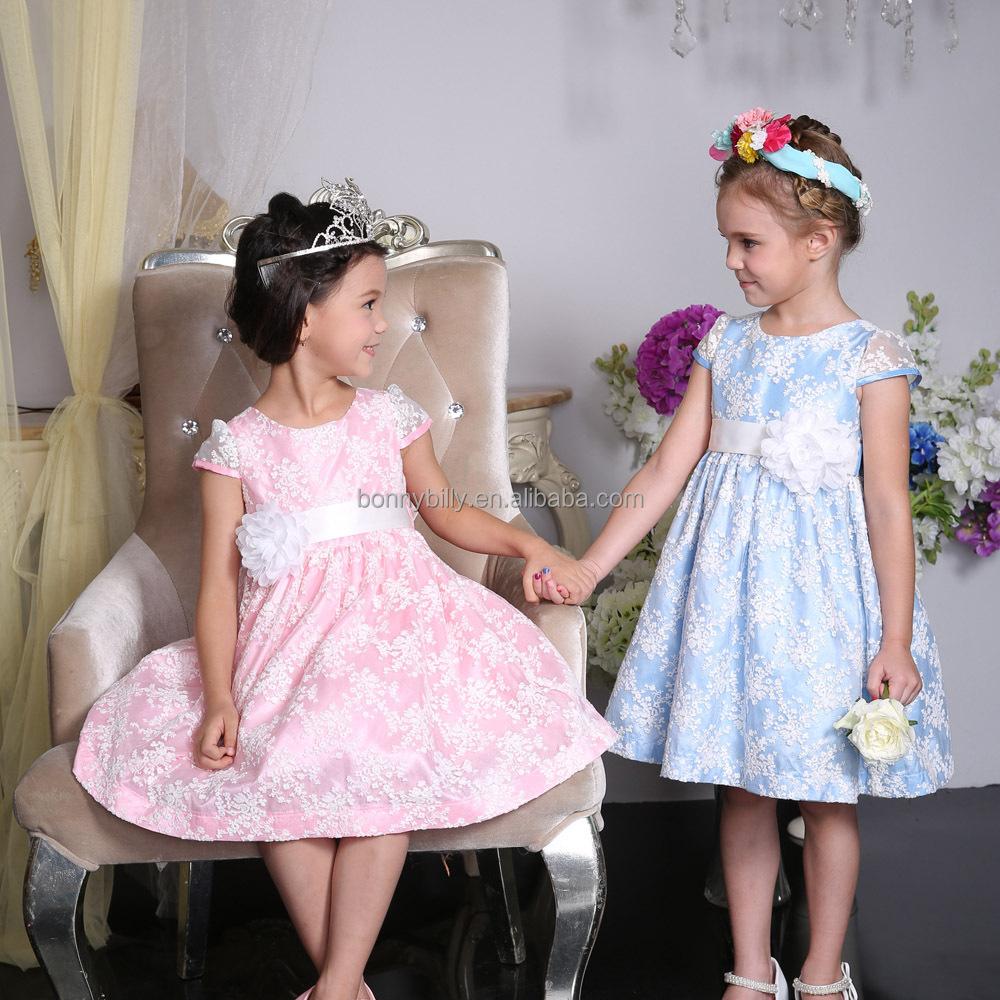 Vestidos De Partido Para Las Muchachas De 7 Años Una Pieza ...