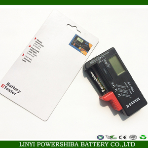 LCD Universal battery tester for 1.5V~9V battery & button cell