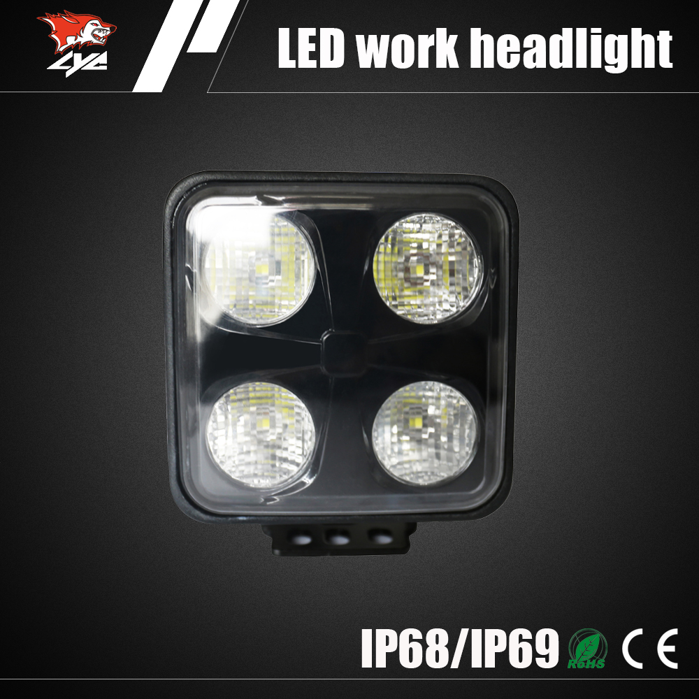Best selling products 40W Certified LED headlight yale forklift warning light