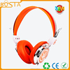 metal piece linked headphones/hot sell soft earmuff headphones/comfortable wear headphone