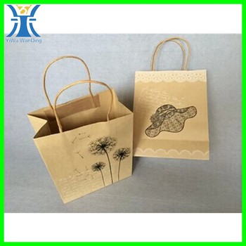 Yiwu Fashion Design Brown Gift Package Custom Made Decoration Un