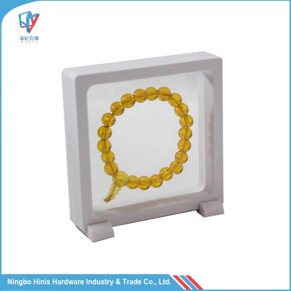 9x9x2cm Plastic Square Custom Logo Jewelry Bracelet Packaging Boxes фото