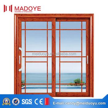 Competitive Price Aluminium Patio Sliding Door With American
