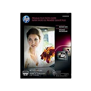 "Hewlett Packard CR664A Small Format - HP Premium Plus Photo Paper 80# Glossy (8.5"" x 11"") (50 SheetsPkg)"
