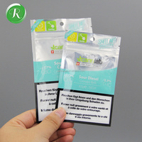 Custom printed aluminium foil laminated mylar packaging ziplock plastic bag with anti static function