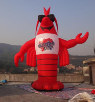 Customized Store Promotion Advertising Inflatable Lobster Inflatable Character
