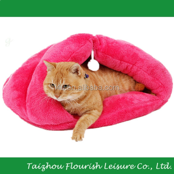 XinYou Cat Cave Bed Kitten Sleep Bag Hanging With a Scrtching Ball Toy Fit Cat Max 33 lbs 4 Colors