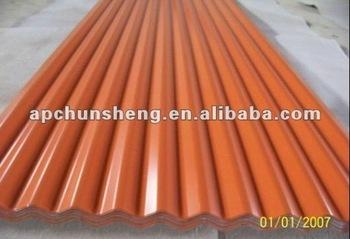 Gi Corrugated Roof Sheet/galvalume Roof Sheet/alu Zinc Coated Roof ...