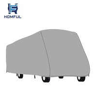 Universal Fit RV Cover Grey Caravan Class B Cover