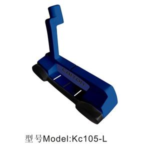 2018 Amazon Best Selling New Design Mallet Type Golf Putter / Custom Zinc Alloy Casting Golf Putter for Golf Club Kc105