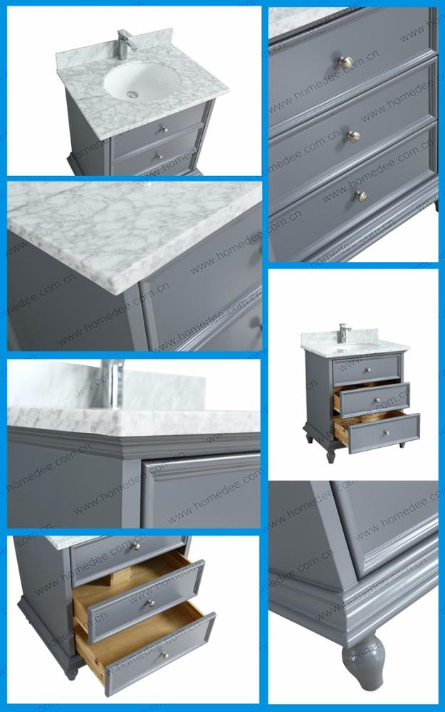 Homedee Single Sink Pvc Bathroom Vanity Cabinet With Resin