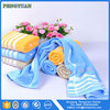 100% cotton plain dyed plain soft sport towel with zip pocket and embroidery logo