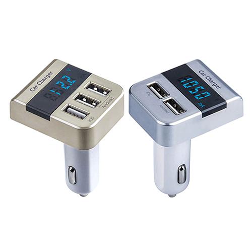 Новое поступление необычные смарт 2 3 USB нескольких портов автомобиля зарядное устройство для iPhone Andriod 69VP