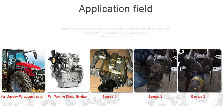 WMM OEM U5MK8266 Oil Pump Engine 404 Series Stock Available Pump Oil Generator Oil Pump For Massey Ferguson Tractor 400