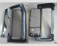 USA HEAVY TRUCK REVERSE BACKUP SIDE REAR VIEW DOOR CAB CHROME HEATED MIRROR FOR VOLVO VNL