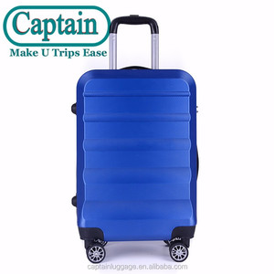Luxury Blue ABS suitcase with nice color design