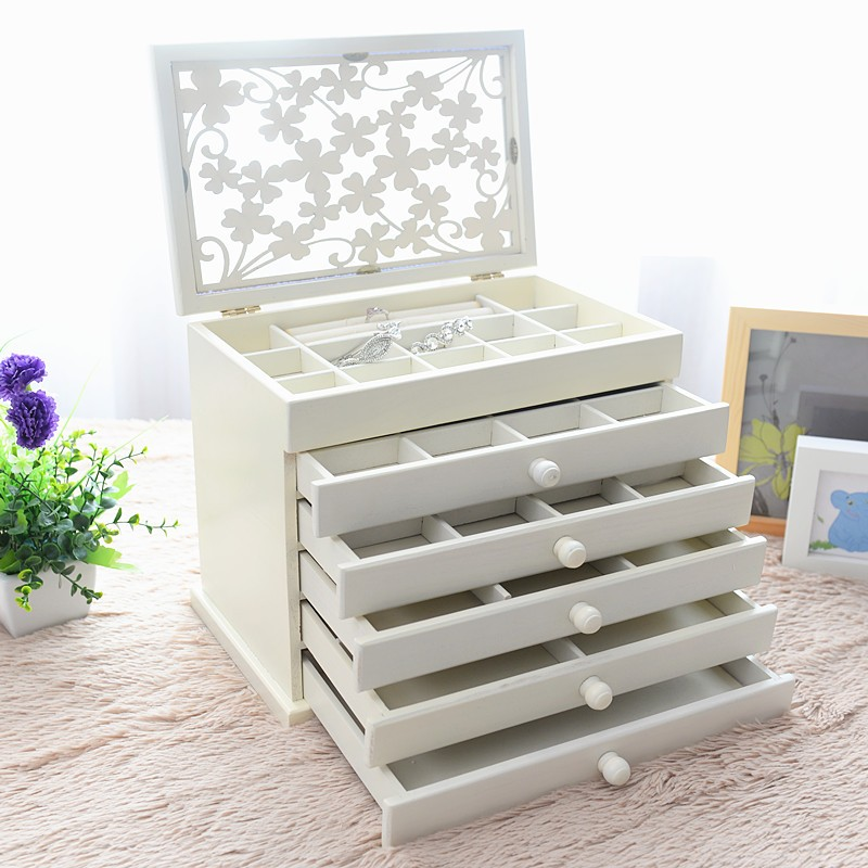 Best Selling Wooden Gift Box For Pearl Jewelry