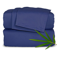 Prime Quality Luxury Bedding Set Plain Dyed 100% Natural Bamboo Sheets