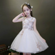 Birthday Wedding Little Bridesmaid Children's Clothing Kids Marriage Party Dress
