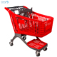 Fashion Design Retail Grocery Store Plastic Supermarket Shopping Trolley