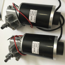 63mm 76mm 12V 24V 80w dc worm gear motor wipper motor