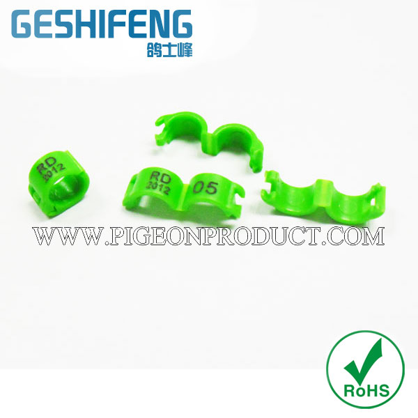 Racing Pigeon plastic Ring & Clip Ring & Snap - Ring