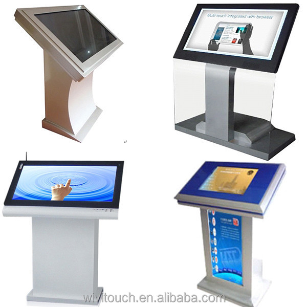 WiViTouch Hot Koop 42 inch full hd 1080 P touch screen foto kiosk, touch screen Kiosk, touch screen foto voor Kiosk