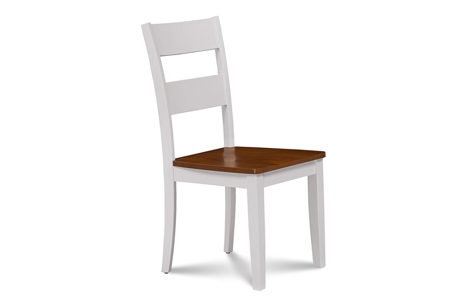 Get Quotations Trithi Furniture Fullerton Asian Solid Wood White Kitchen Dining Chair Cherry Seat Set