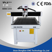 Jinan good quality 6090 small wood carving cnc router for sale;smart cnc router with high speed
