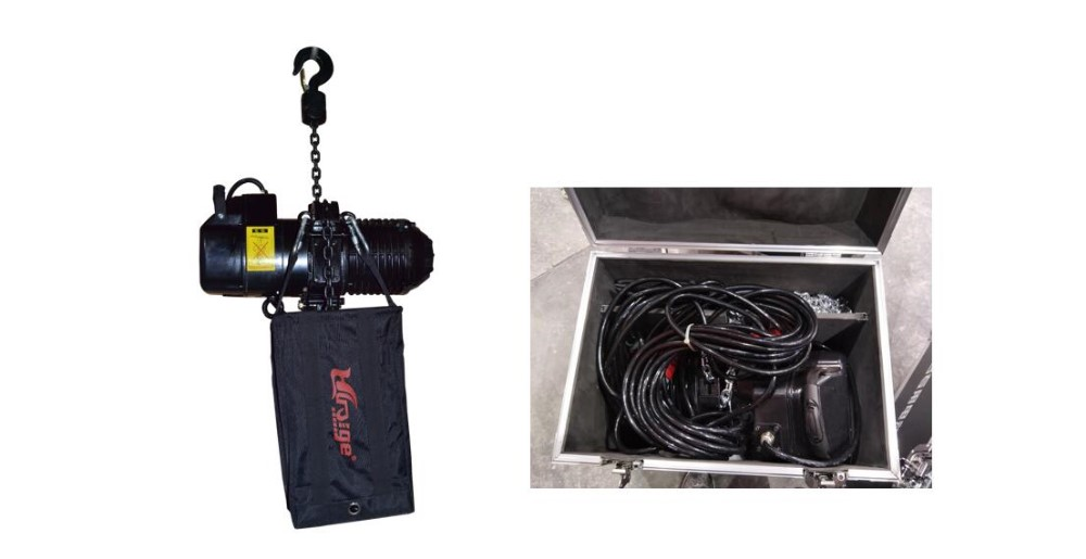 High Quality 2 Ton Stage Electric Chain Hoist