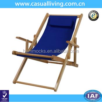 Outdoor Wood Beach Picnic Chair/folding Beach Armless Chairs