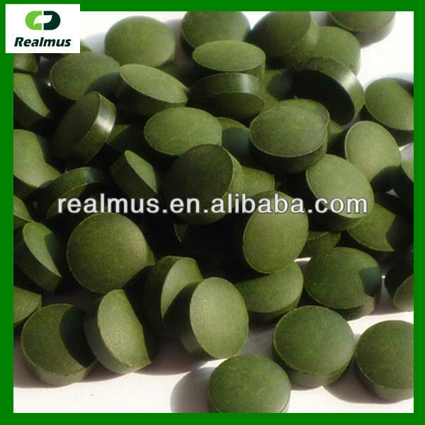 OEM service Natural spirulina/chlorella tablets