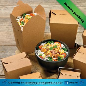 4edd1338e09 Disposable Paper Pasta Box Take Away