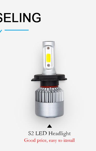 high power 50W 6000 lumen ZES 9005 9006 H11 H1 H4 H7 auto car x3 led headlight bulb